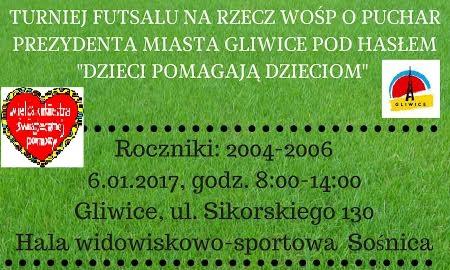 turniej gliwice WOŚP 2017